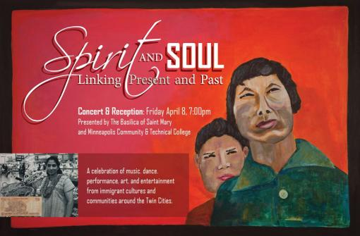 Spirit and Soul Postcard Cover Art