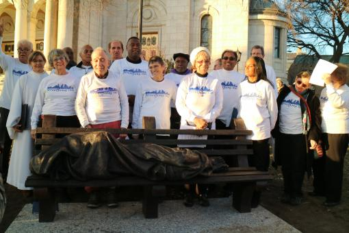 Street Song Homeless Jesus Dedication