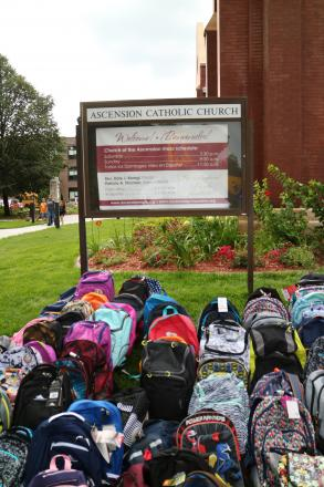 Ascension Back Pack Donations