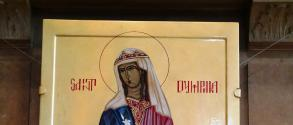 Saint Dymphna Icon