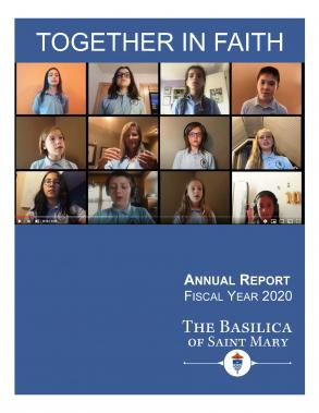 Annaul Report 2020 cover