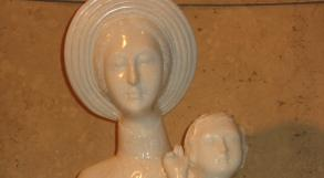 Photo Interior Statue of Our Lady of La'Vang