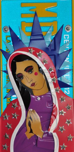 Art Painting of Our Lady of Guadalupe