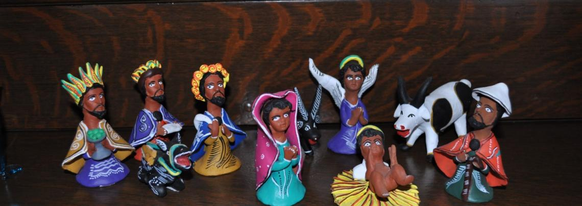 Nativity from Oaxaca, Mexico
