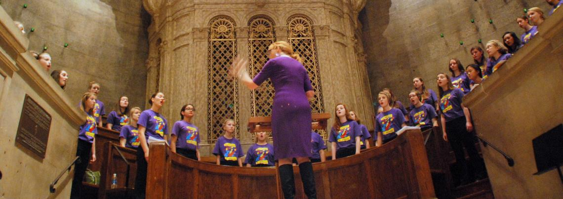 Youth Choir at The Basilica