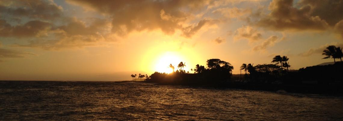 Sunset in Poipu