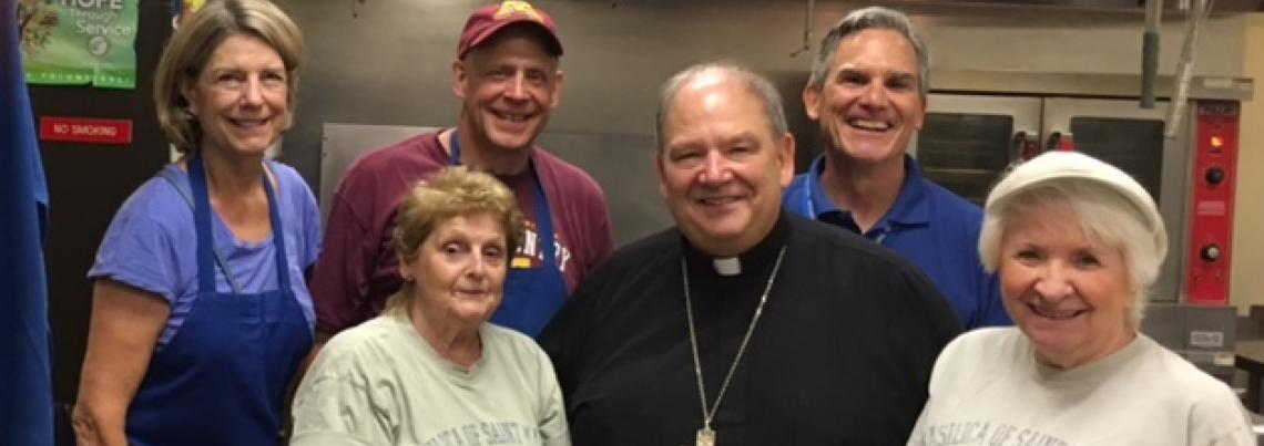 Catholic Charities Opportunity Center Volunteers