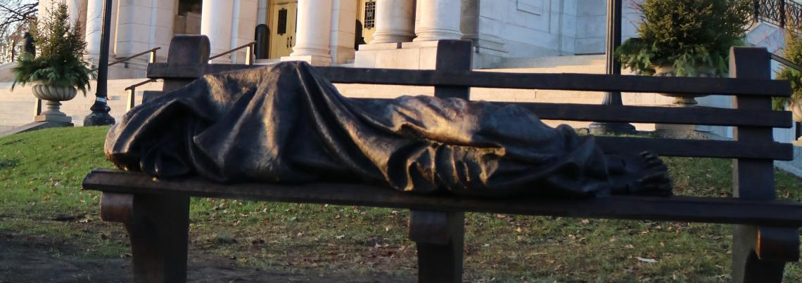 Homeless Jesus Dedication