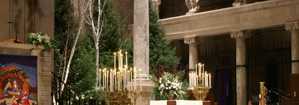 Christmas at The Basilica of Saint Mary