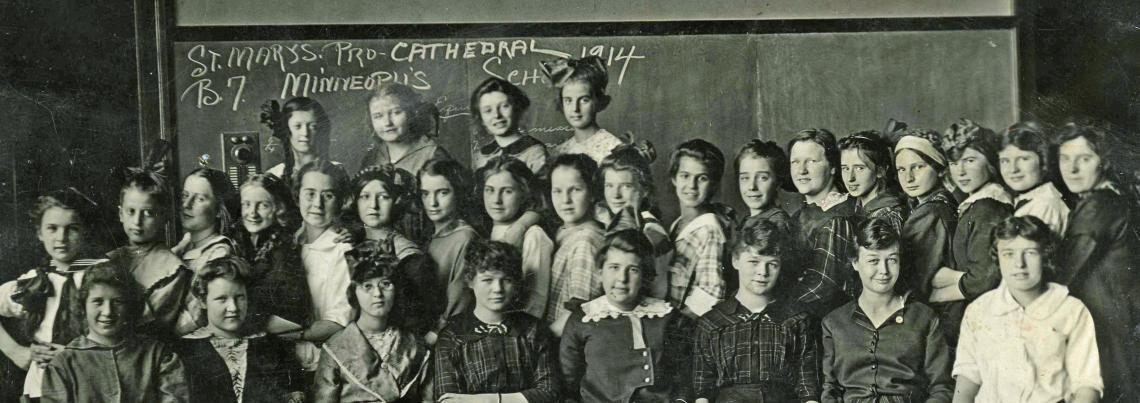 Pro-Cathedral School class, 1914