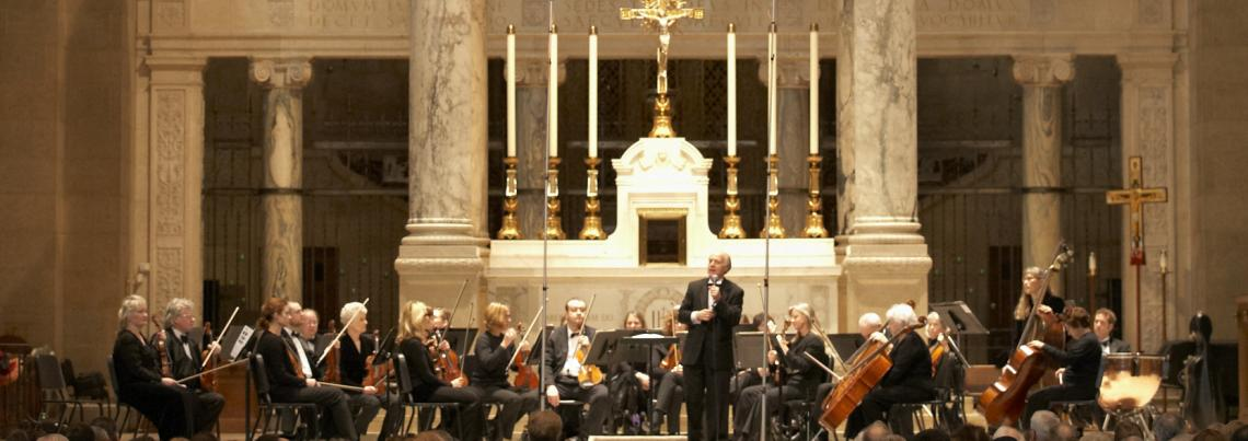 The Minnesota Sinfonia performs at the Basilica