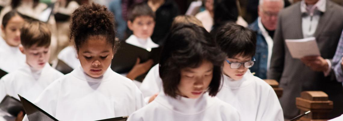 Our Parish Our Future Cathedral Chorister 150th