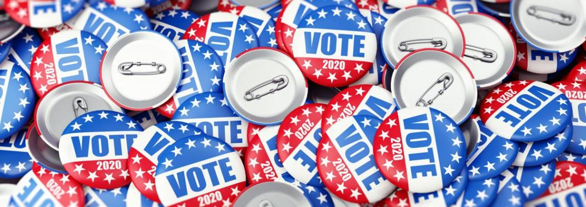 vote2020 buttons