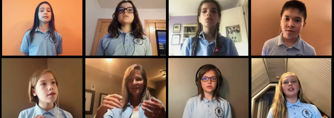 Choristers video image