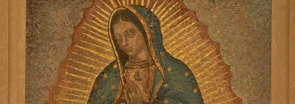 Mosaic of Our Lady of Guadalupe