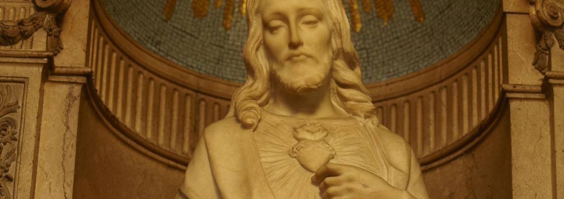 Sacred Heart of Jesus statue, Basilica of St. Mary