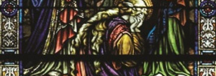 Mary of Magdala in Basilica Window