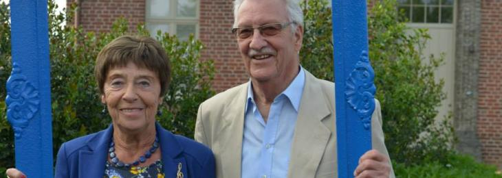 photo of tante Maddy and uncle Tony