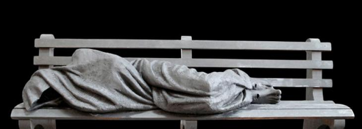 Homeless Jesus Sculpture
