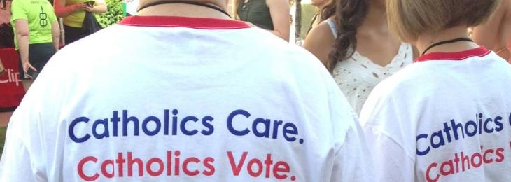 Catholics Vote tshirts