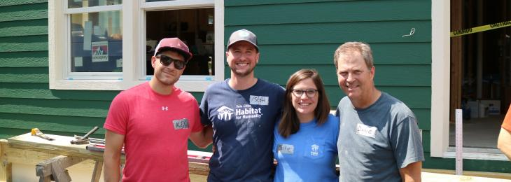 Habitat for Humanity Peak/Arnason family 2018
