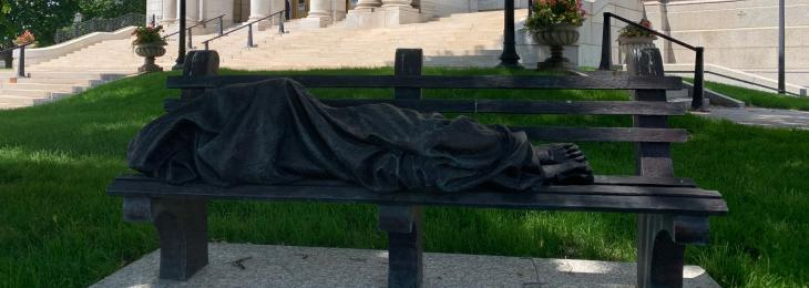 Homeless Jesus Summer