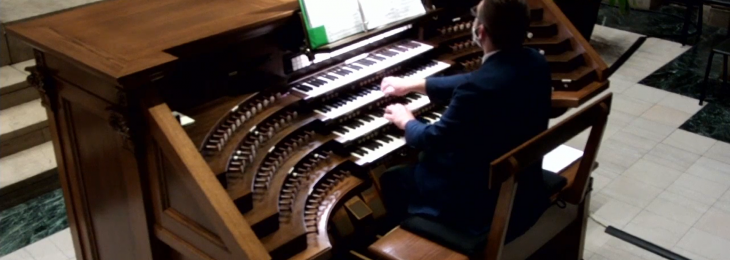 Chris at Organ Livestream