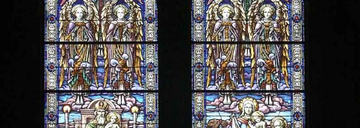 Presentation of the Lord window