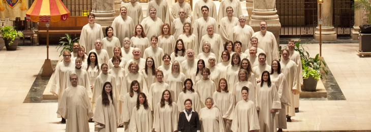 The Basilica Cathedral Choir Spring 2014