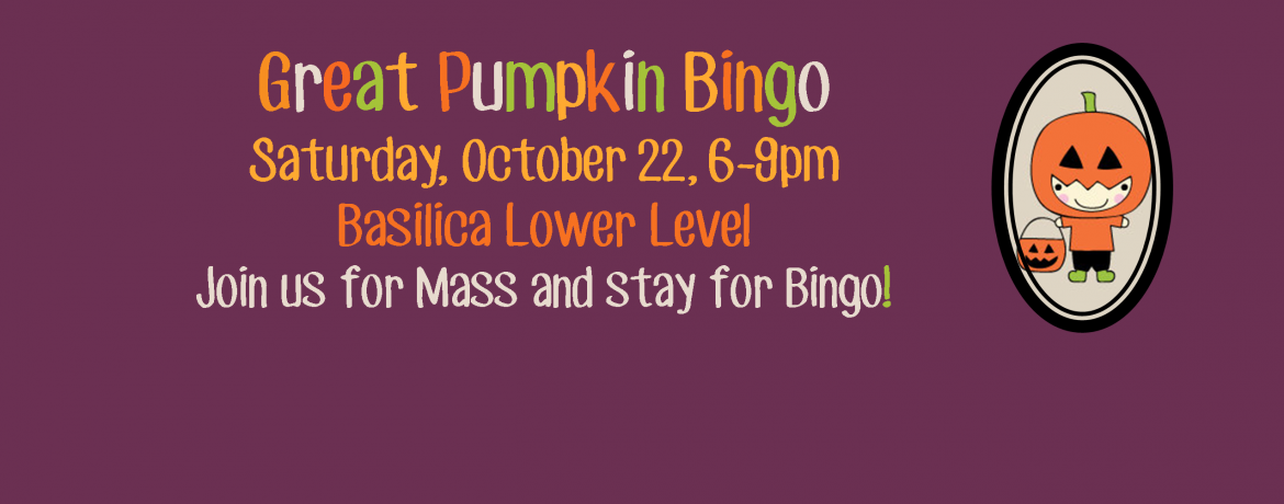 Great Pumpkin Bingo 2016