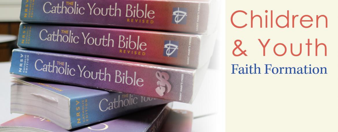 Faith Formation Web Banner_youth bibles