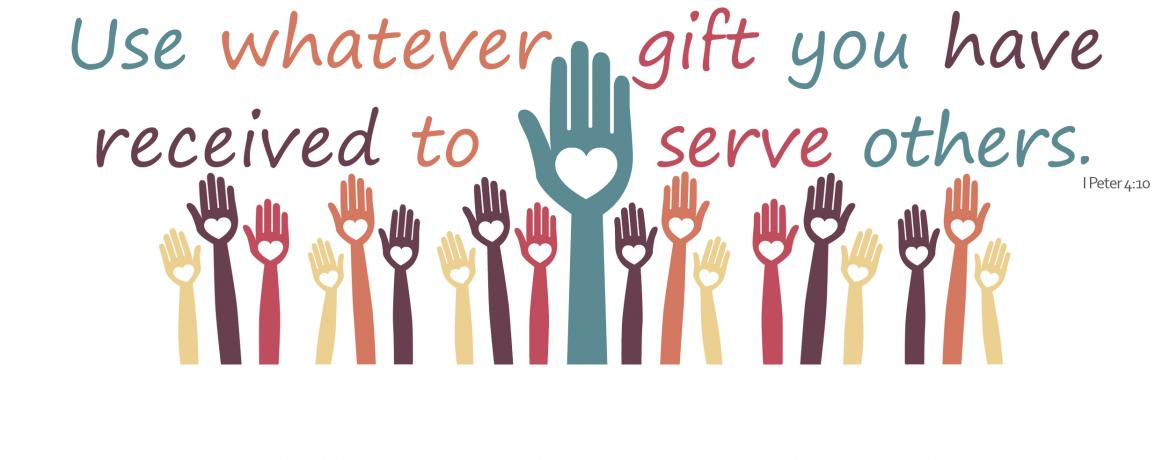 Stewardship of our gifts web banner