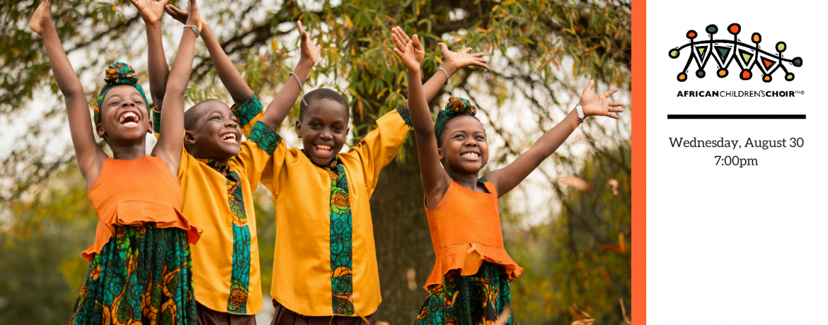 African Childrens Choir web banner 2017