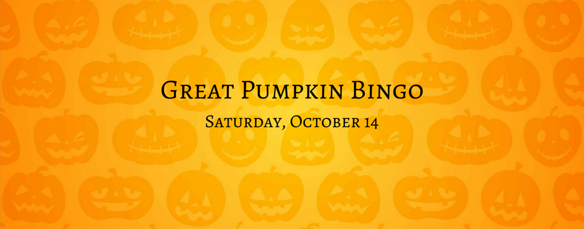 Great Pumpkin Bingo 2017 webbanner