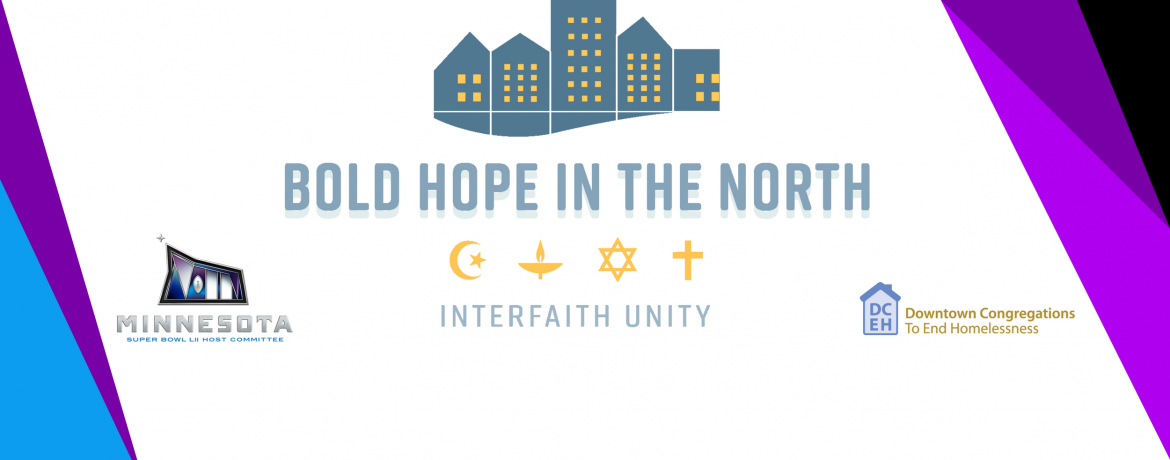 Bold Hope in the North web banner