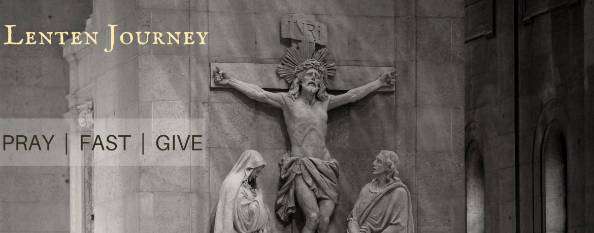 Lenten Journey web banner