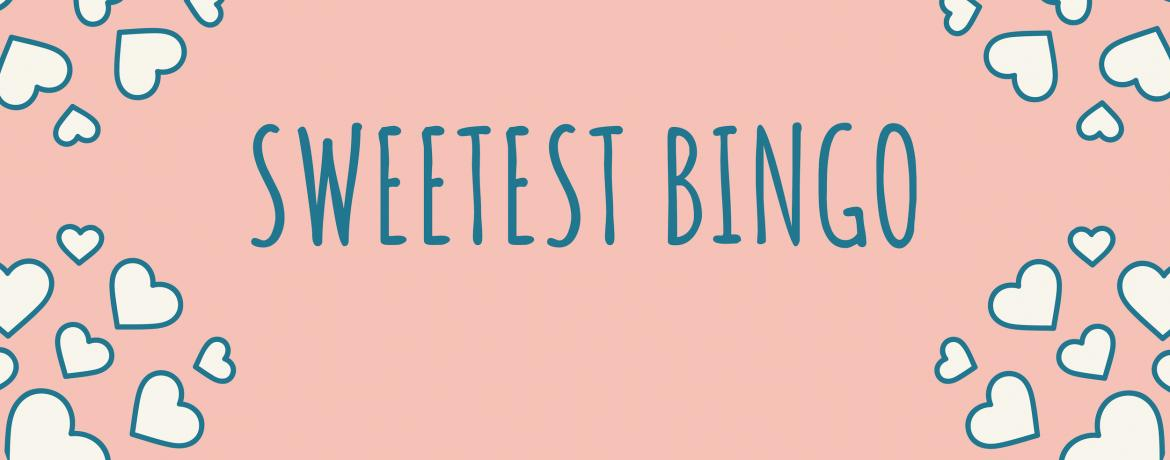 Sweetest Bingo 2019 web banner
