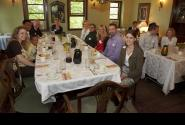 New Member Dinner at the Basilica